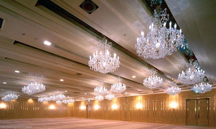 Ballroom Chandeliers For Sale Maria Crystal Chandeliers Ballroom Regarding Best And Newest Ballroom Chandeliers (View 1 of 10)