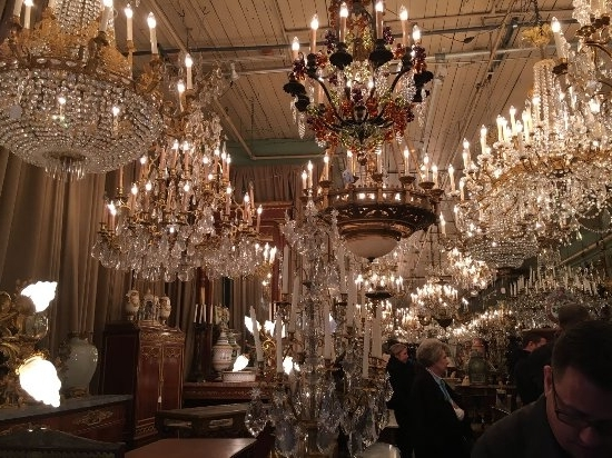 Ballroom Chandeliers With Regard To Favorite Chandeliers In An Antique Store – Picture Of Royal Street, New (View 4 of 10)