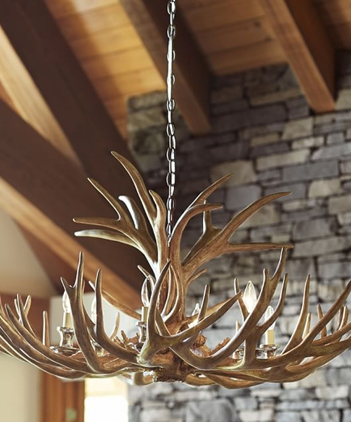 Beautiful Antler Chandeliers! You Can Buy Them At: Www With Regard To Most Current Turquoise Antler Chandeliers (View 2 of 10)