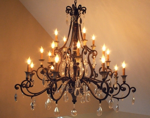 Beautiful Chandelier (View 3 of 10)