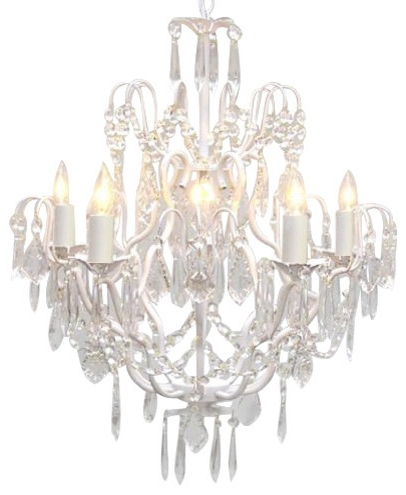 Beautiful Traditional Crystal Chandeliers The Gallery Wrought Iron In Widely Used White Chandeliers (View 1 of 10)