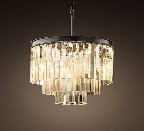 Best 25 Art Deco Chandelier Ideas On Pinterest For Contemporary For Preferred Large Art Deco Chandelier (View 1 of 10)