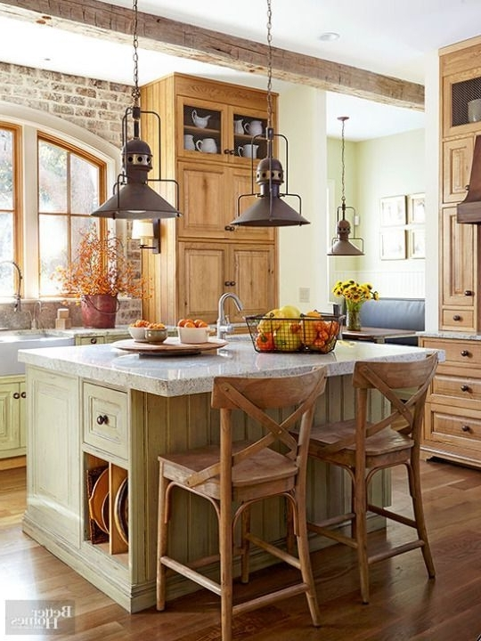 Best And Newest 443 Best Kitchen ~ Islands Images On Pinterest (View 2 of 10)
