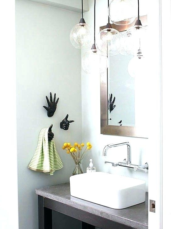 Best And Newest Bathroom Lighting Chandeliers Inside Chandeliers For Bathroom Plus Bathroom Light Chandelier Luxurious (View 6 of 10)