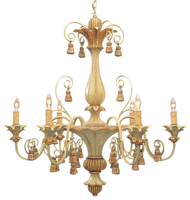 Best And Newest Chandelier And Carved Wood With Regard To Contemporary Household Inside Italian Chandelier Style (View 2 of 10)