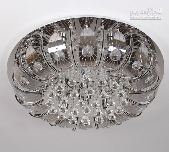 Best And Newest Discount Modern Stylish K9 Crystal Ceiling Lamp Crystal Chandelier With Regard To Remote Controlled Chandelier (View 2 of 10)