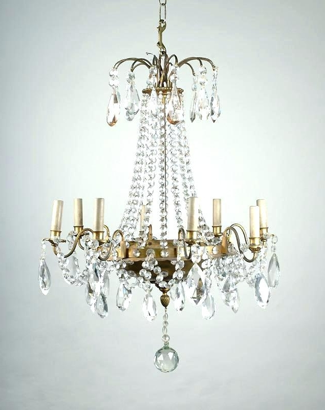 Best And Newest French Crystal Chandeliers Regarding French Crystal Chandeliers Vintage – Chandelier Designs (View 2 of 10)