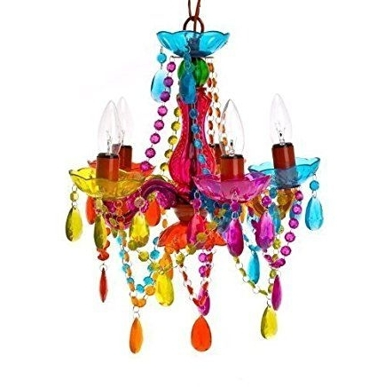 Best And Newest Gypsy Chandelier Pendant Ceiling Light – Multi Coloured Small Regarding Small Gypsy Chandeliers (View 2 of 10)