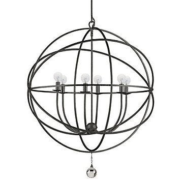 Best And Newest Orb Chandelier Inside Eclipse Chandelier (View 2 of 10)