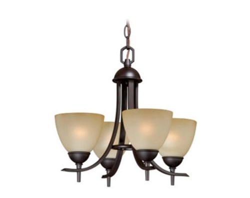 Best And Newest Small Bronze Chandelier For Somerville 4 Light  (View 1 of 10)