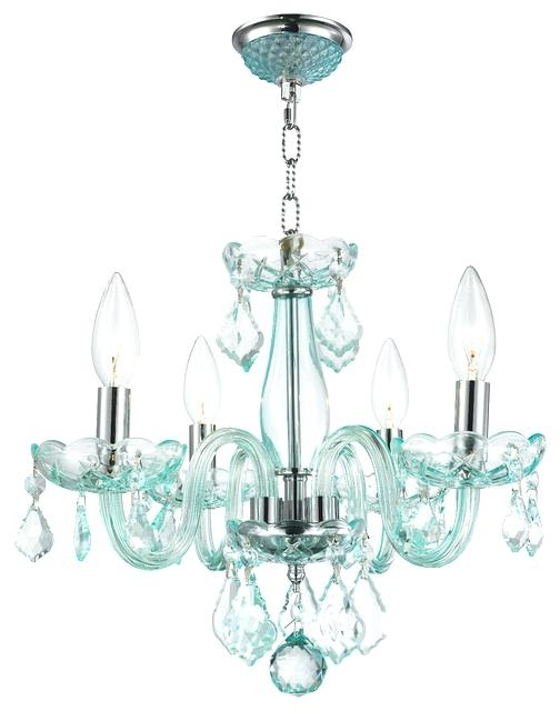 Best And Newest Turquoise Mini Chandeliers Inside Modern Small Chandelier – Wecanhelpyou (View 1 of 10)
