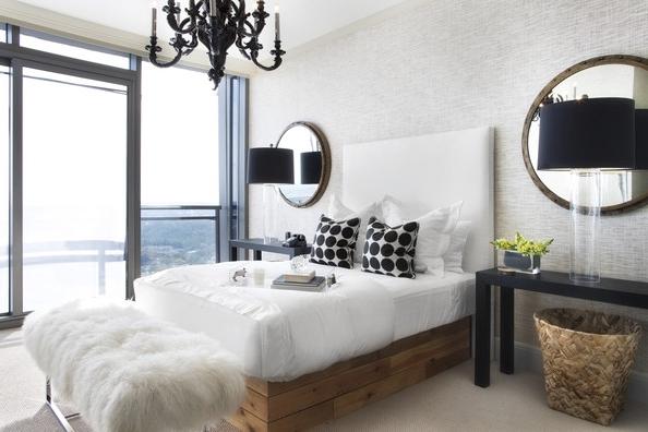 Black Chandelier Bedroom Pertaining To Popular Hollywood Regency Bedroom Photos (13 Of 31) (View 7 of 10)