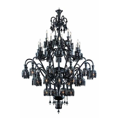 Black Chandeliers (View 3 of 10)