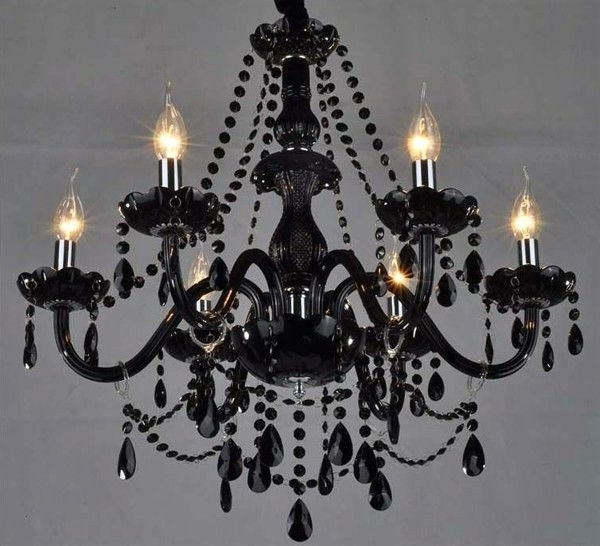 Black Gothic Chandelier With Regard To Famous Black And White Chandeliers Great Chandelier 17 Best Ideas About (View 9 of 10)