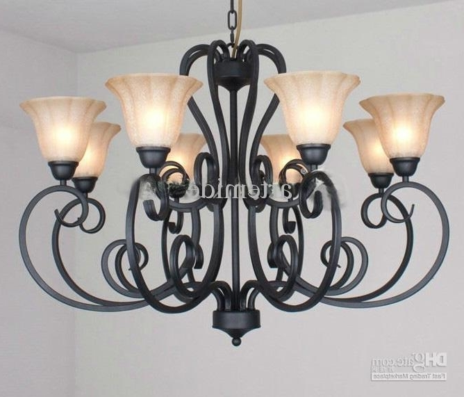 Black Iron Chandeliers Pertaining To Well Known Lovely Lighting Chandeliers Traditional Rustic Traditional Black (View 5 of 10)