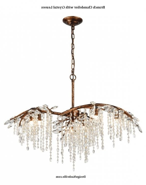 Branch Crystal Chandelier Pertaining To Most Up To Date Found It At Joss & Main – Ellis Crystal Chandelier ( Branch Crystal (View 5 of 10)