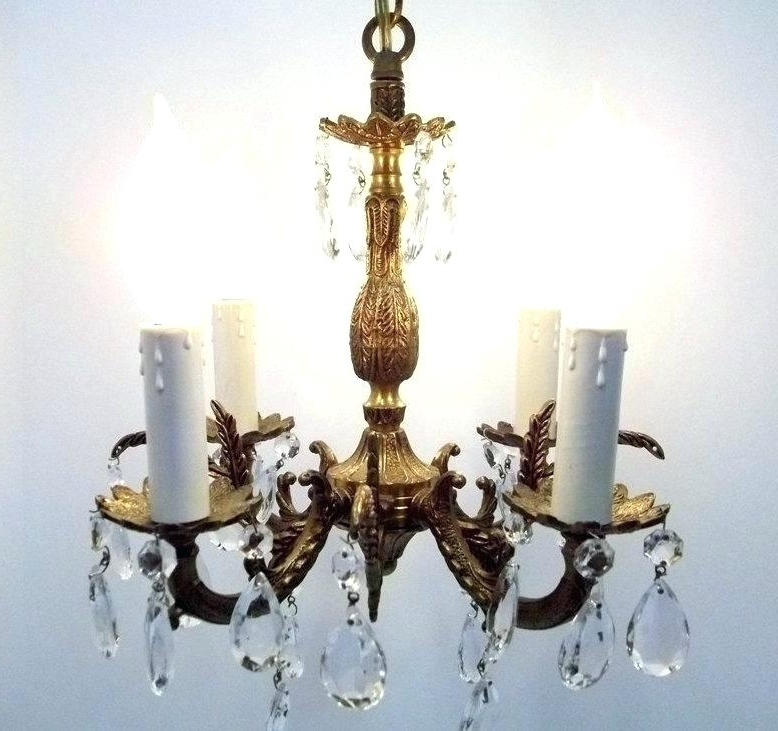 Brass And Crystal Chandeliers As Well As Brass Crystal Chandelier With Regard To Popular Brass And Crystal Chandelier (View 4 of 10)