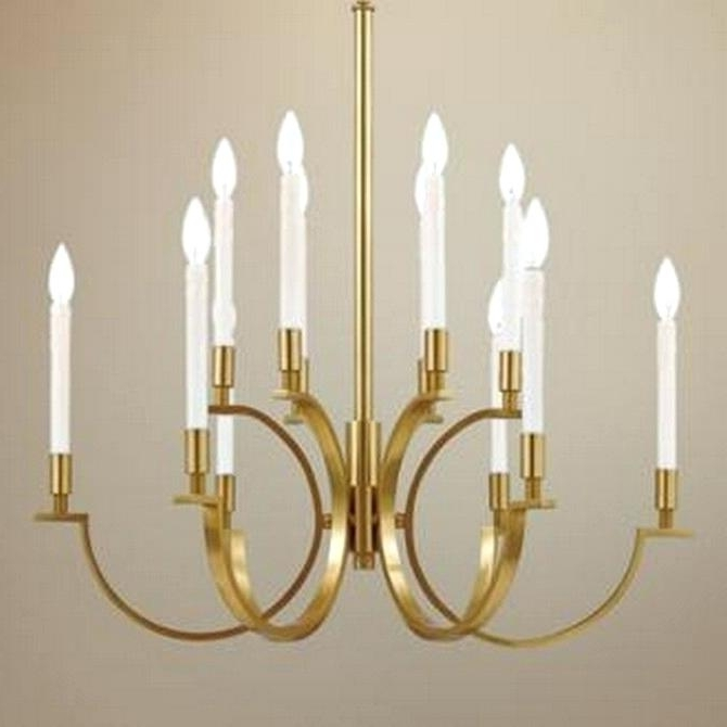 Brass Chandeliers Inside 2018 Chandeliers Brass Top 5 Brass Chandeliers For Your Living Room Top  (View 3 of 10)