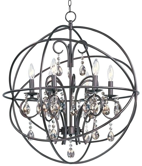 Caged Chandelier Regarding Most Recently Released Cage Style Chandeliers Chandelier Glamorous Caged Chandelier (View 2 of 10)