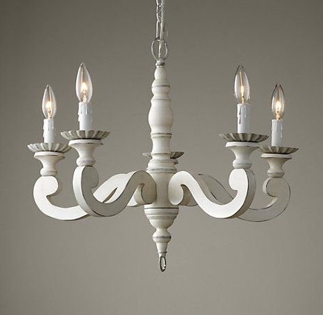 Chandelier: Amazing Small White Chandelier White Chandeliers For Pertaining To Best And Newest Small White Chandeliers (View 2 of 10)