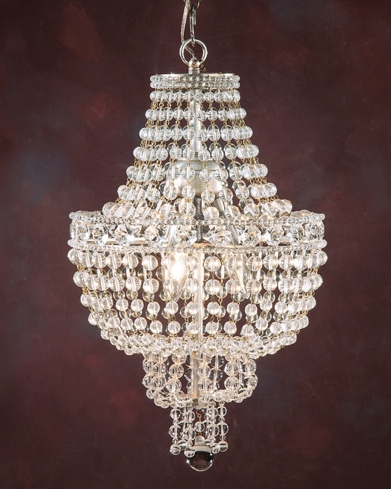 Chandelier And Small Crystal Chandelier Inside Best And Newest Mini Crystal Chandeliers (View 1 of 10)