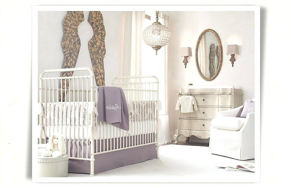 Chandelier Baby Girl Nursery S Crystal Room – Boscocafe Intended For Trendy Crystal Chandeliers For Baby Girl Room (View 2 of 10)