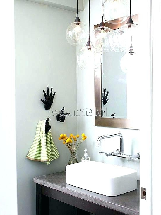 Chandelier Bathroom Lighting Throughout Popular Chandelier For Bathroom Chandelier Bathroom Lighting Fixtures (View 3 of 10)