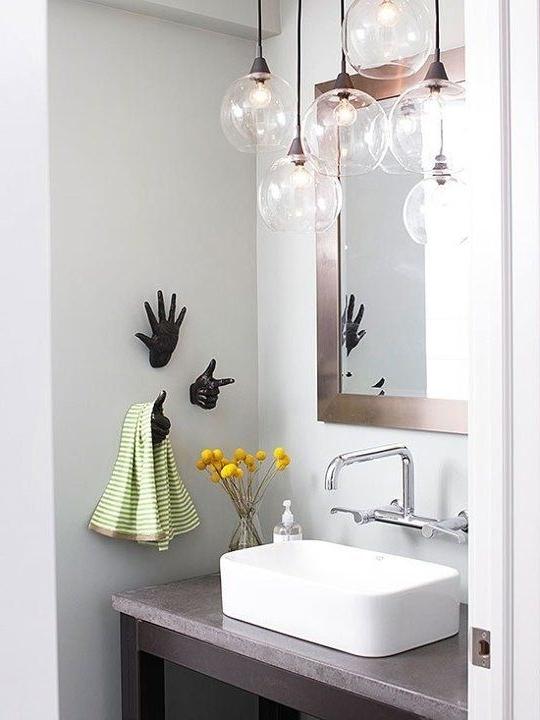 Chandelier Bathroom Vanity Lighting – Jeffreypeak With Regard To Widely Used Chandelier Bathroom Vanity Lighting (View 9 of 10)