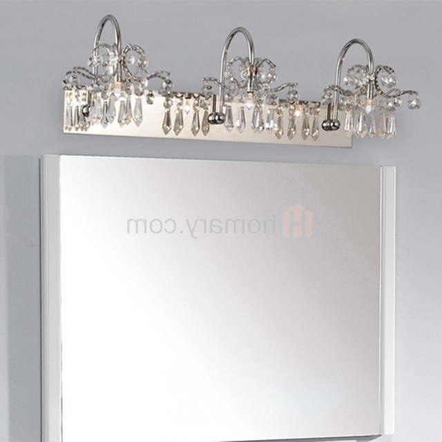 Chandelier Bathroom Vanity Lighting Regarding Trendy Vanity Light Catalog – Jeffreypeak (View 2 of 10)