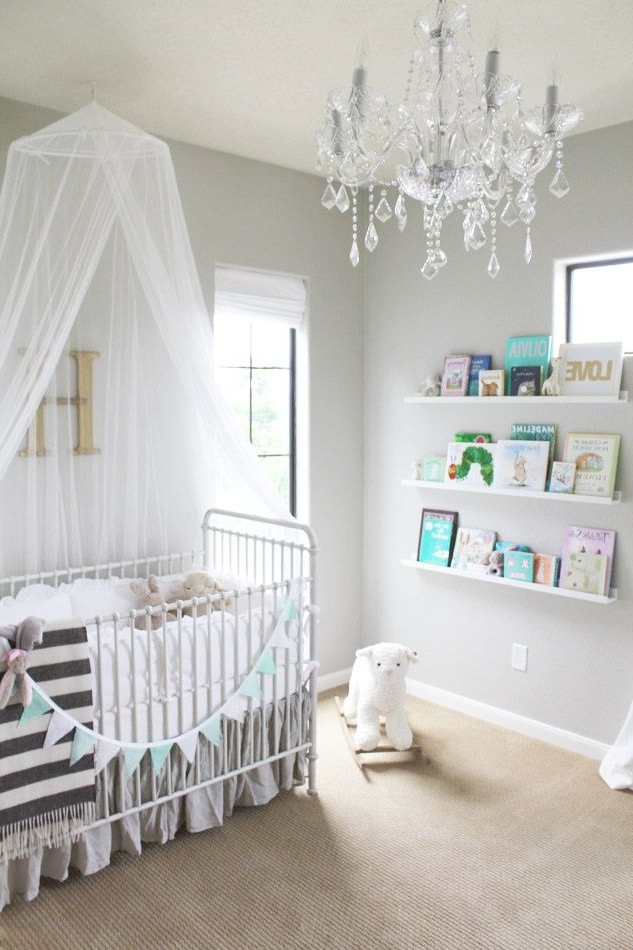Chandelier For Nursery – Thejots Pertaining To Recent Mini Chandeliers For Nursery (View 3 of 10)