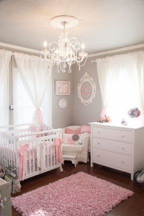 Featured Photo of Chandeliers For Girl Nursery