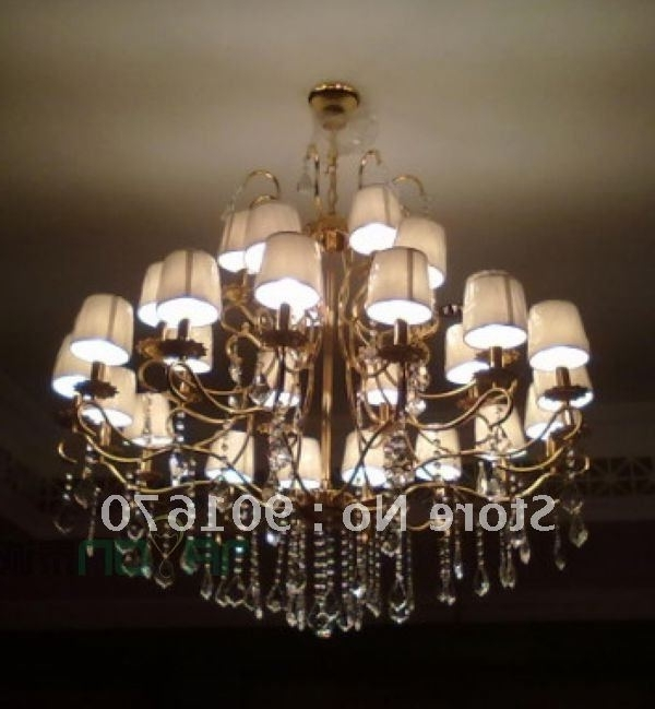 Featured Photo of Chandelier Lampshades