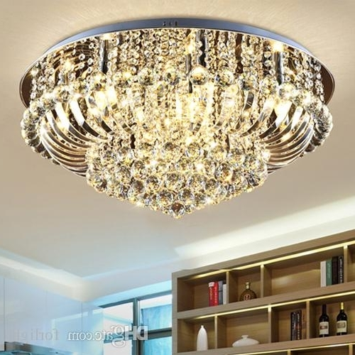 Chandelier Lights For Living Room Pertaining To Fashionable Dimmable Chandeliers Modern Design High Class K9 Crystal Chandelier (View 3 of 10)