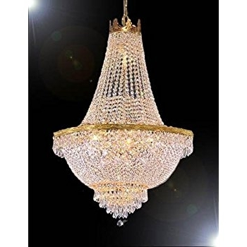 Chandelier Lights Within Current French Empire Crystal Chandelier Lighting – Great For The Dining (View 4 of 10)