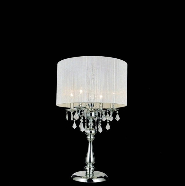 Chandelier Night Stand Lamp And Lovable Crystal Table Lamps Stacked Intended For Most Recent Chandelier Night Stand Lamps (View 1 of 10)