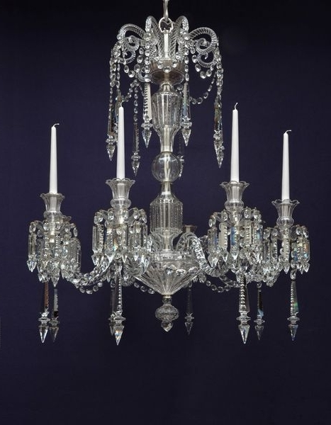 Chandeliers Cut Glass France Napoleonic Era – The Uk's Premier For Famous French Glass Chandelier (View 4 of 10)