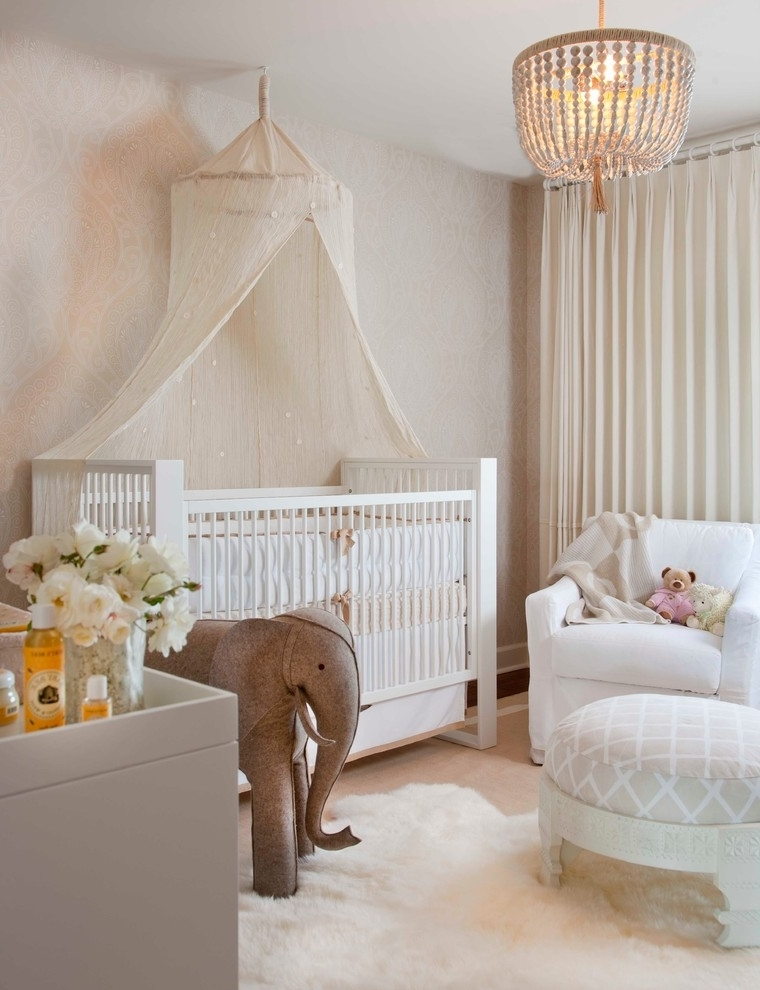 Chandeliers For Baby Girl Room Inside Latest Interesting Baby Girl Room Chandelier – Home Design Ideas (View 3 of 10)