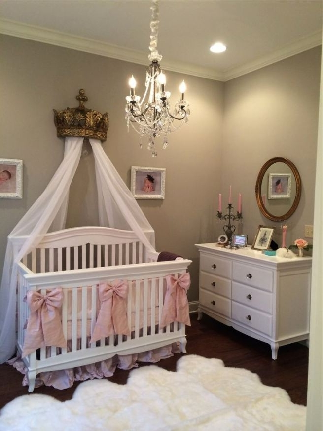 Chandeliers For Girl Nursery With Well Known Baby Room Chandeliers Design Ideas #1 100+ Baby Girl Nursery Design (View 6 of 10)