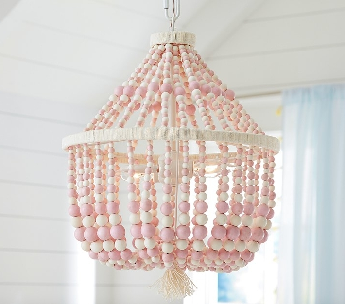 Chandeliers For Kids Room Cinderella Chandelier With Pink Crystals Pertaining To Well Liked Chandeliers For Kids (View 3 of 10)