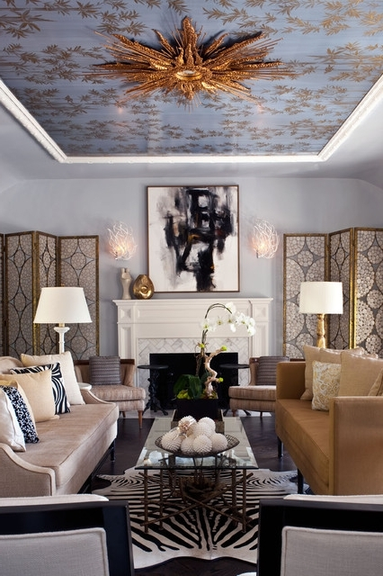 Chandeliers For Low Ceilings Inside Fashionable Dramatic Lighting For Low Ceilings (View 2 of 10)