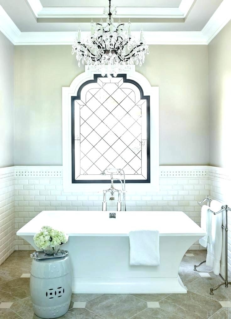 Chandeliers For The Bathroom Bathroom Chandelier Lighting Ideas Within 2018 Bathroom Chandeliers Sale (View 5 of 10)