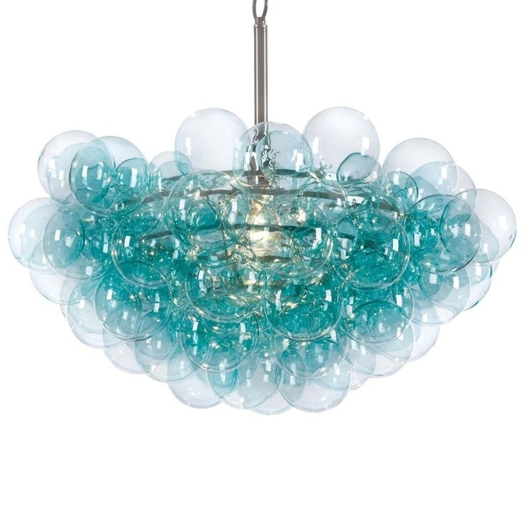 Chandeliers, Light Intended For 2018 Turquoise Orb Chandeliers (View 9 of 10)