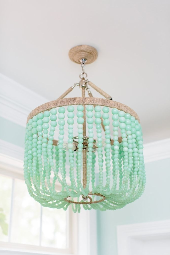 Chandeliers, Light With Regard To Most Popular Diy Turquoise Beaded Chandeliers (View 3 of 10)