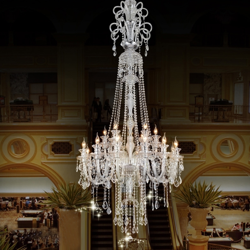 Cheap Big Chandeliers Throughout Most Recent Home Design : Endearing Large Cheap Chandeliers Chic Design (View 2 of 10)
