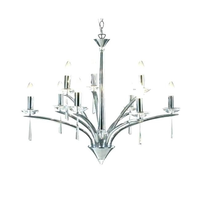 Chrome Chandeliers With Regard To Favorite Polished Chrome Chandelier Together With Chrome Chandelier Large (View 8 of 10)