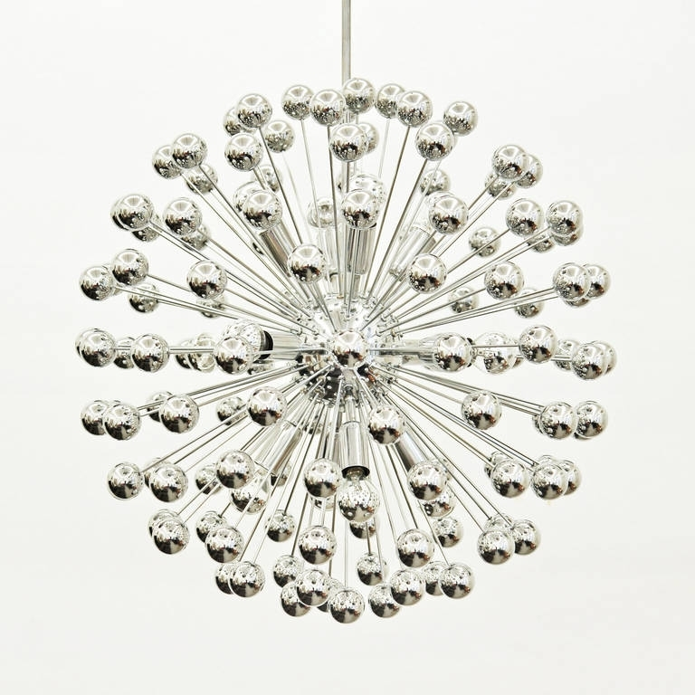 Chrome Sputnik Chandelier – Chandelier Designs Within Widely Used Chrome Sputnik Chandeliers (View 3 of 10)
