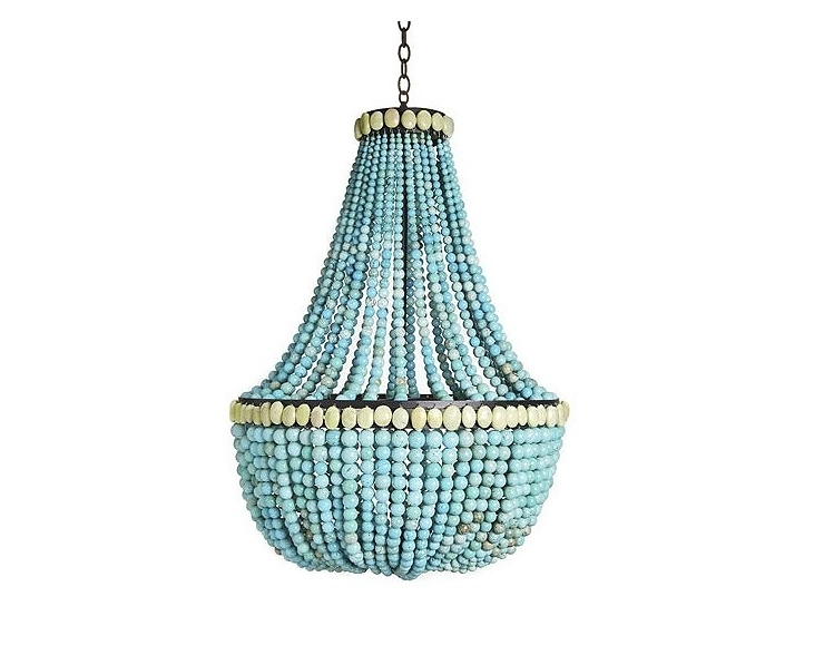 Cococozy Inside Turquoise Empire Chandeliers (View 8 of 10)