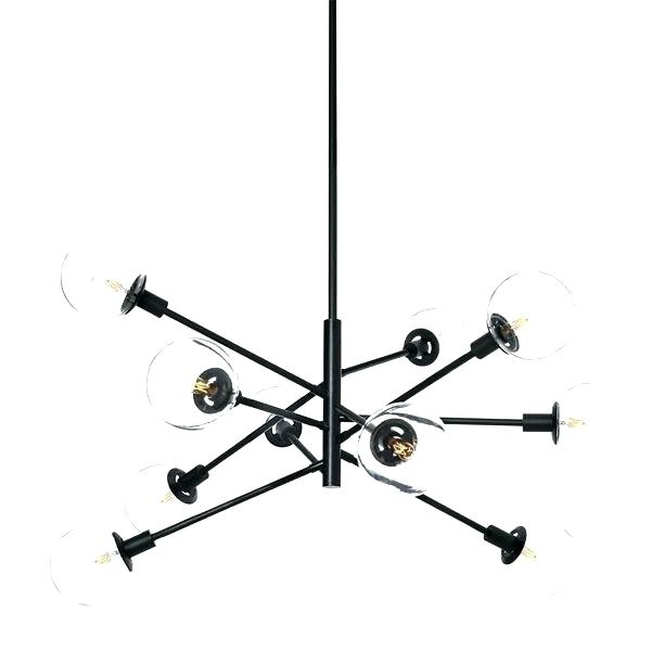 Contemporary Chandelier And Black Contemporary Chandelier Best Black With Most Recently Released Black Contemporary Chandelier (View 6 of 10)