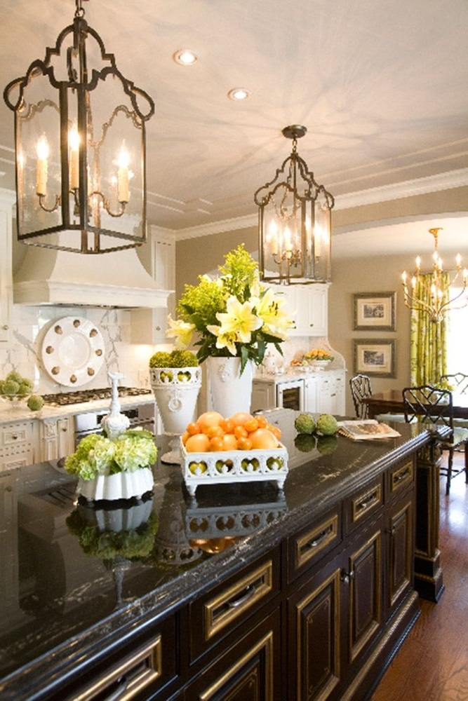 Featured Photo of French Country Chandeliers For Kitchen