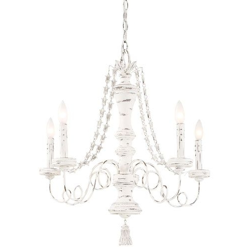 Country Chic Chandelier In Popular Shabby Chic Chandeliers: 10 Ways To Light Up Your Life (View 1 of 10)